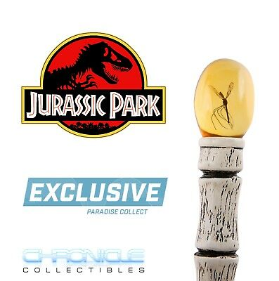 Jurassic Park Chronicle Collectibles John Hammond Cane 11 Scale Prop Replica