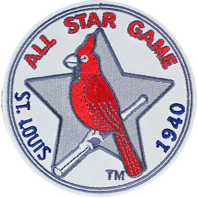 1940 MLB All Star Game Patch in St Louis Cardinals Baseball Team Vintage