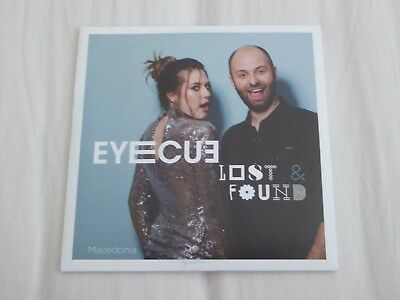 Eurovision 2018 - Macedonia - Eye Cue - Lost and Found - Press Promo CD