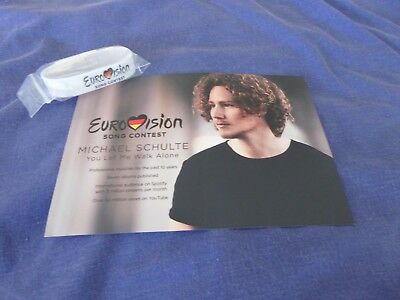 Eurovision 2018 - Germany - Michael Schulte - You Let Me Walk Alone - Promo USB