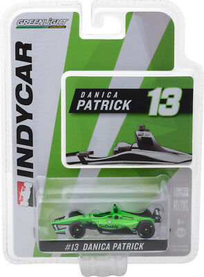 Greenlight 164 2018 13 Danica Patrick Ed Carpenter Racing Go Daddy INDY 10823