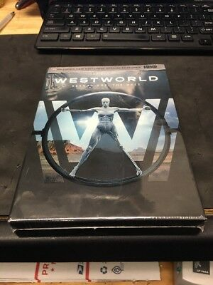 Westworld The Complete First Season 1 DVD 2017 3-Disc Set  New-