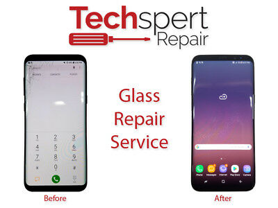 Samsung Galaxy S9- Plus Cracked Screen Glass Repair Replacement Mail In Service