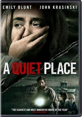 A Quiet Place DVD2018 NEW Drama Horror PRE-ORDER SHIPS ON 071018