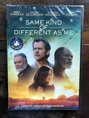 Same Kind of Different As Me DVD New Free Ship  based on a True Story