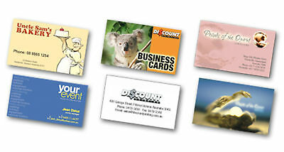 1000 Full Color REAL PRINTING Business Cards 16pt UV High Gloss SUMMER SPECIAL