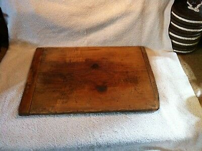 ANTIQUE PRIMITIVE WOODEN CUTTING BOARD FARMCOUNTRY