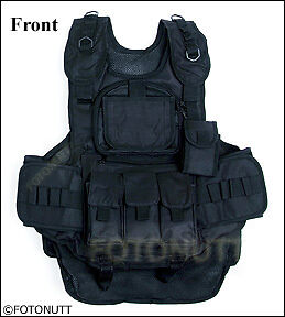 New BLACK OPS 4-1 TACTICAL VEST Paintball Harness
