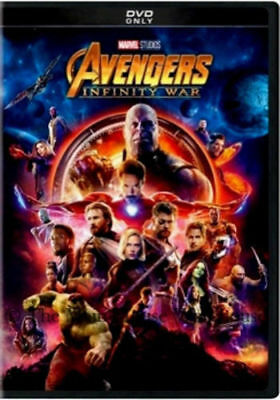 Avengers Infinity War DVD2018 NEW Action Adventure FREE SHIPPING