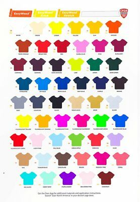 Siser Easyweed Iron-on Heat Transfer Vinyl HTV- all colors available
