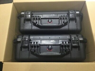 Pair 2 in Box Pelican 1520 Case  Black  larger then 1500