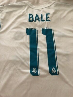 Adidas Real Madrid Jersey Bale Size XL