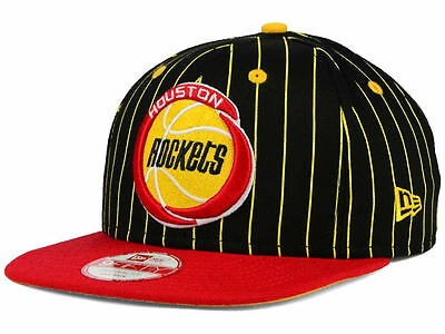 Houston Rockets New Era NBA HWC Team Plaid 9FIFTY Snapback Hat Baseball Cap