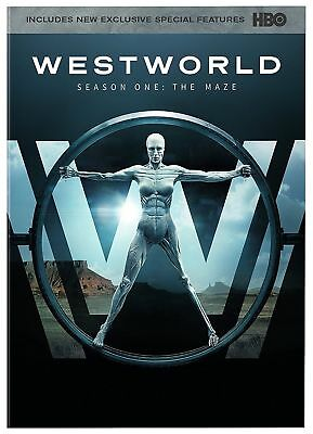 Westworld The Complete First Season 1st  one 1 DVD USED-FREE EXPEDITED SHIP