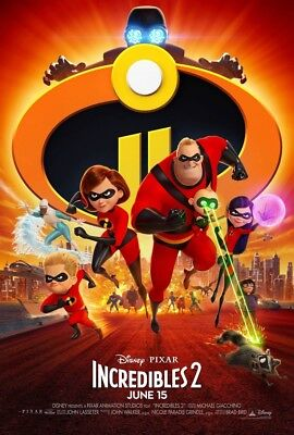 INCREDIBLES 2  BRAND NEW DVD FACTORY SEALED FREE SHIPPING