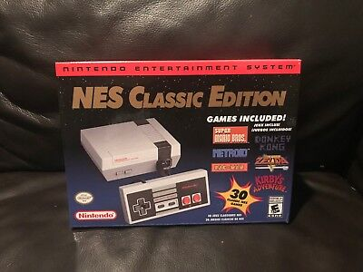 Nintendo NES Classic Mini Edition Modded w 850- Games and Quick Reset Function