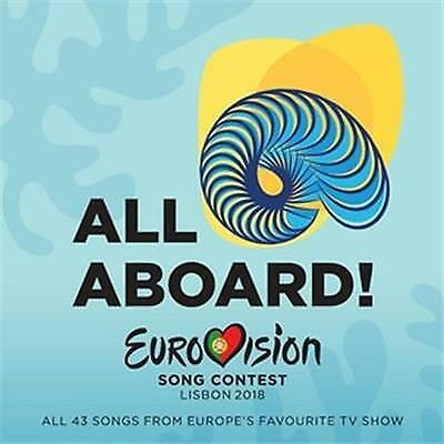 EUROVISION SONG CONTEST LISBON 2018 All Aboard VARIOUS ARTISTS 2 CD NEW