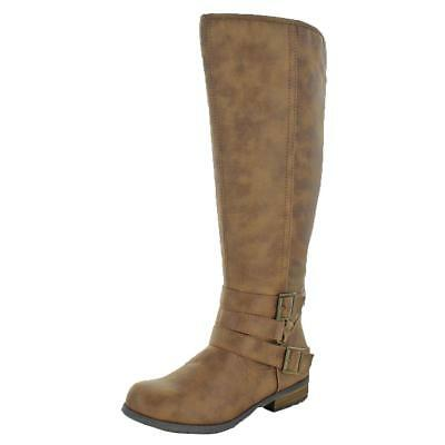 Madden Girl by Steve Madden Womens Campus Knee-High Riding Boots Shoes BHFO 9093