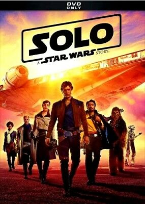 Solo A Star Wars Story 2018DVD NEW  Action  PRE-ORDER SHIPS ON 092518