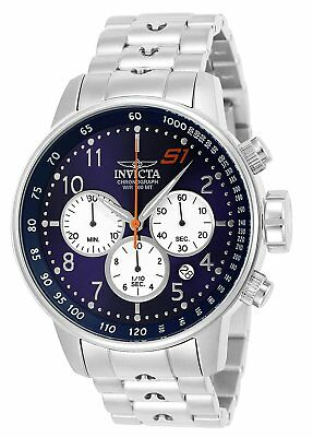Invicta 23080 Mens S1 Rally Chronograph 48mm Blue Dial Watch