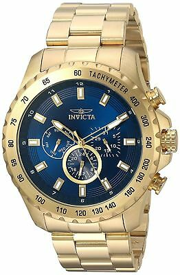 Invicta 24213 Mens Speedway Chronograph 48mm Blue Dial Watch