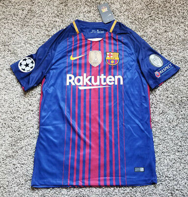 Messi FC Barcelona Spain Soccer Club New Men's Home Blue Jersey Size M L or XL