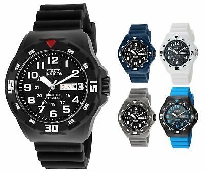 Invicta Mens Coalition Forces 45mm ABS Rubber Watch - Choice of Color