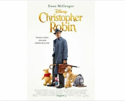 CHRISTOPHER ROBIN  DVD2018 NEW  FACTORY SEALED FREE SHIPPING