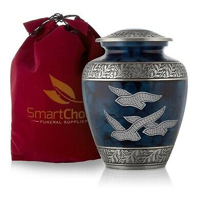 SmartChoice Royal Cremation Urn for Human Ashes - Affordable Funeral Urn Adul-