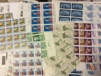 50 Face Value Discount Postage Mint Unused Scraps to MNH FV NO Forever Stamps