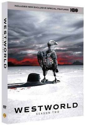 Westworld The Complete Second Season 2 DVD3-Disc SAME DAY SHIP 1-3 DAY MAIL