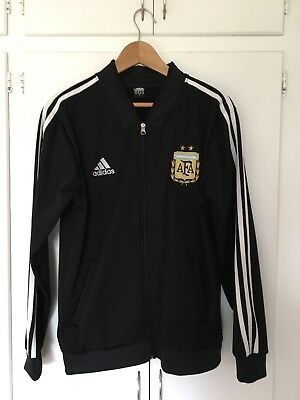 World Cup Russia 2018 - Argentina Jacket - Adidas Black Medium Size - Never Worn