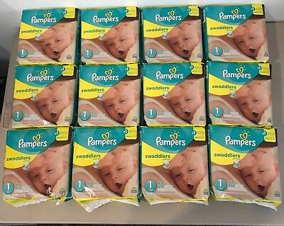 Pampers Diapers Size 123456Sold in case quantity