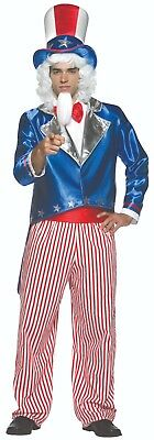 Uncle Sam Costume Adult One-Size 1943