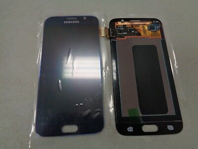 New OEM Samsung Galaxy S6 G920A G920V LCD Digitizer Touch Screen Blue