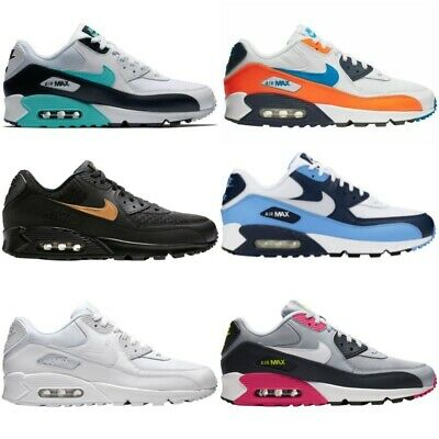 New Mens Nike Air Max 90 Essential Shoes Sneakers Casual Athletic Sizes 8-13