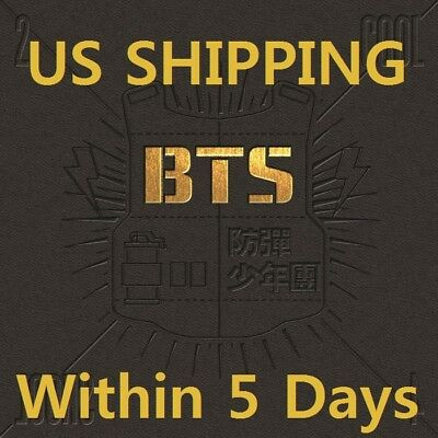 US SHIPPING BTS2 COOL 4 SKOOL1st Single CD-Booklet-Card-Gift-Tracking K-POP
