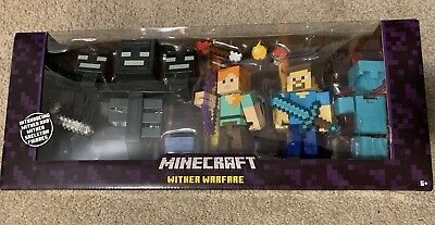 Brand NEW Minecraft Wither Warfare Toy Figure Play Set
