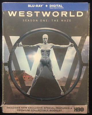 Westworld Season One The Maze Blu-ray - Digital New Free Ship