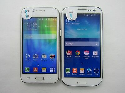 Lot of 2 Assorted Samsung Unlocked Carrier Check IMEI Good Condition 5-1790