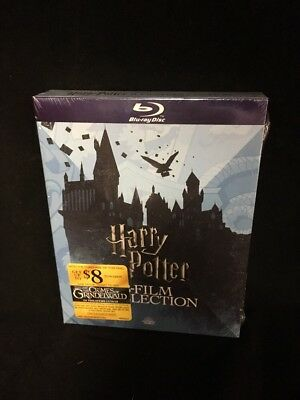 Harry Potter Complete 8-Film Collection 8-DiscBLU-RAY