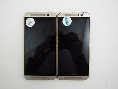Lot of 2 Parts - Repair HTC One M9 OPJA110 Cricket Check IMEI 5PR 029