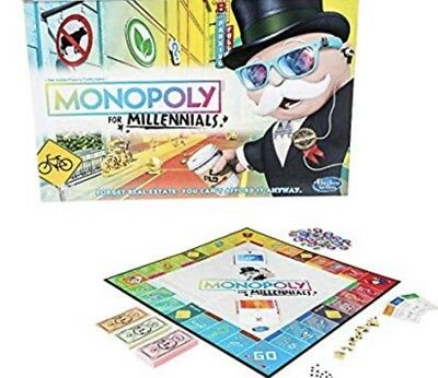 Monopoly for Millennials - Hard to Find Christmas Game