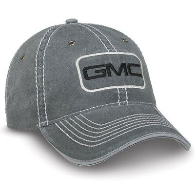GMC Enzyme Washed Gray Cotton Hat