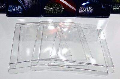 10 Steelbook Box Protectors  Protective Sleeves Cases   Clear Slipcovers  G2