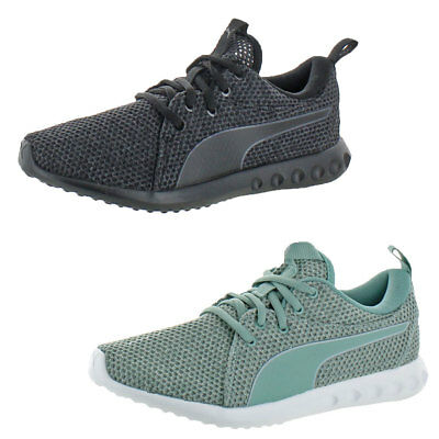 Puma Carson 2 Nature Knit Womens Low-Top Running Trainer Sneaker Shoes
