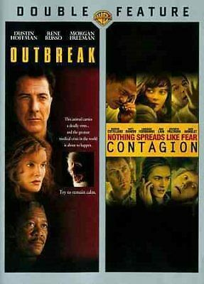 Double Feature Outbreak  Contagion DVD 2014