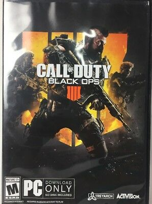 Call of Duty Black Ops 4 PC CDKEY - Standard Edition Open Box