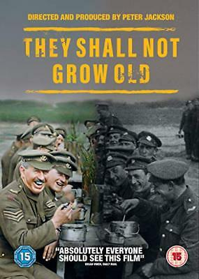 THEY SHALL NOT GROW OLD DVD PRE SALE FREE SHIPPING  FACTORY SEALED