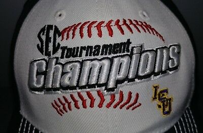 LSU SEC Tournament Champions 2013  Baseball Hat Snapback NWT Top of the World